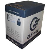 КПП-ВП(100)4*2*0,51   OK-Net  Кабель UTP кат.5E, ПЭ, коробка 305м