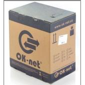 КПВЭ-ВП(200)4*2*0,51   OK-Net  Кабель FTP кат.5E, ПВХ, коробка 305м