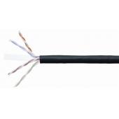 UTP4-C5E-SOLID-OUTDOOR-2451-CCA Hyperline Кабель для внешней прокладки UTP CCA 5E категория, 305 м